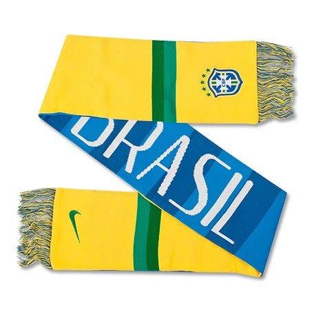 Nike Brazil Supporters Scarf [Varsity Maize] (OS)