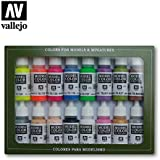 70112 Model Colour Wargame Special 16 Colour Acrylic Paint Set