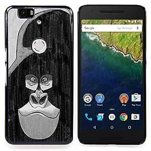 "Planetar ( Colorido loco del pelo hermoso"" ) Huawei Google Nexus 6P Fundas Cover Cubre Hard Case Cover"