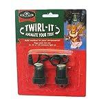 Kurt Adler Twirl-it Motor Pigtails, Set of 4