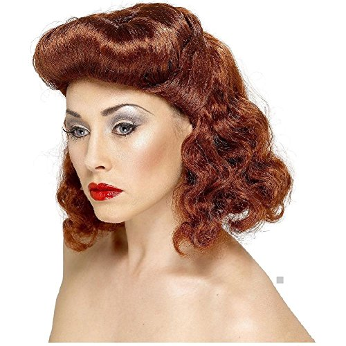 Day Of The Dead Pin Up Costume (Pin Up Girl Wig Costume Accessory Adult Halloween)