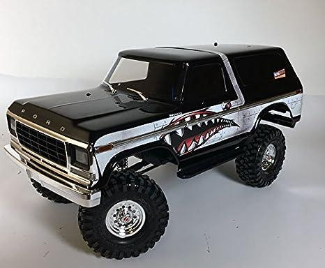 Ultradecals Dark Wood Traxxas TRX-4 / TRX4 Ford Bronco Body Skin Wrap Decal  Sticker (Spitfire Shark Teeth)
