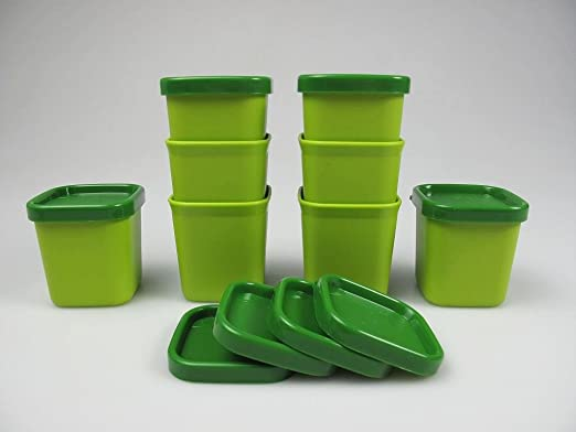 TUPPERWARE Flanero Microvapor 101° de 80 ml verde (8) 8669: Amazon ...