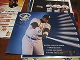 2001 San Diego Padres Tony Gwynn 19 seasons poster bx-sd