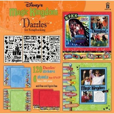 Hot Off The Press - Disney's Magic Kingdom Dazzles for - Scrapbook Disney Supplies