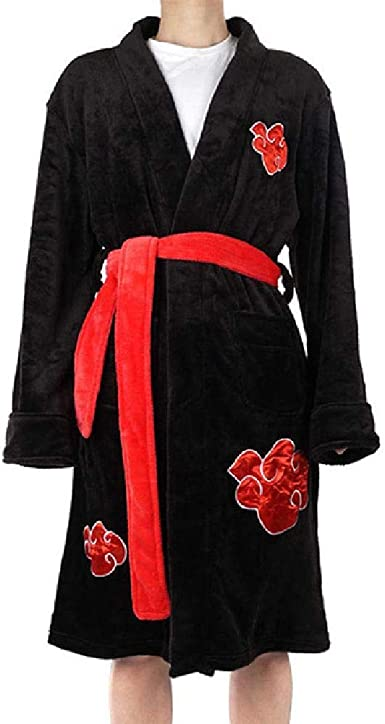Dragon Ball Z Naruto Attack on Titan Albornoz Cosplay Son Goku Disfraz adulto noche traje de baño pijama traje de baño