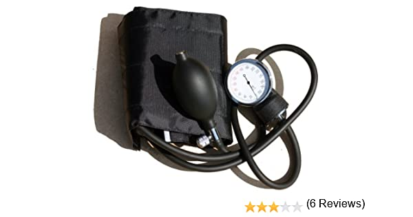 Professional ANEROID SPHYGMOMANOMETER standard adult Cuff with artery indicator: Amazon.es: Electrónica