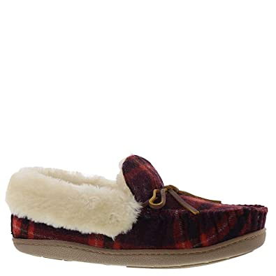 103e899262a Minnetonka Flora Folded Trapper Women s Slipper