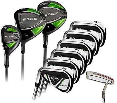 Callaway Edge 10-Piece Golf Club Complete Set, Left Handed