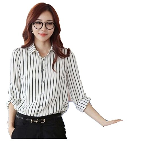 Hengzhi Womens Office Sleeve Shirts