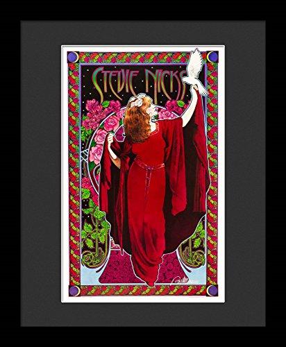 Stevie Nicks Framed Concert Poster By Bob Masse