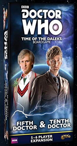 Gale Force GF9DW002 Doctor Who: Time of The Dalek 5th & 10th Doctors Expansion Multicolore