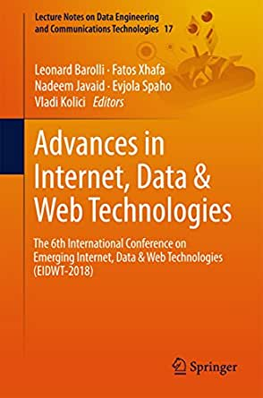 Amazon com: Advances in Internet, Data & Web Technologies: The 6th