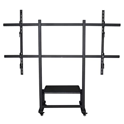 Amazon Com Mobile Tv Stand Trolley Cart 100 Inch Lcd Led