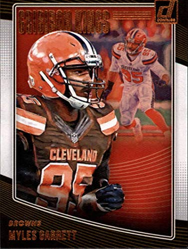 1dbb81f0ba1 2018 Donruss Gridiron Kings Football Card  11 Myles Garrett NM-MT Cleveland  Browns Official