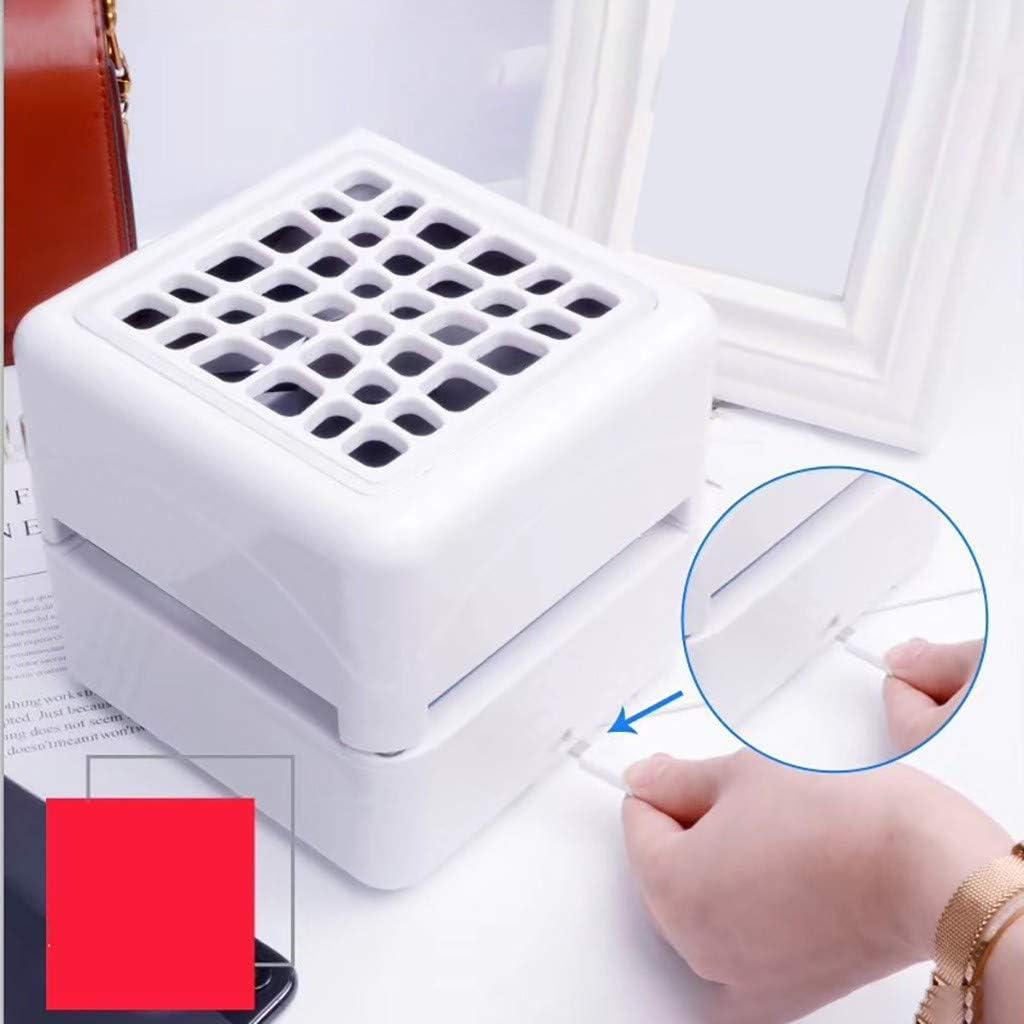 CAOQAO - Aire Acondicionado portátil con Ventilador portátil USB ...