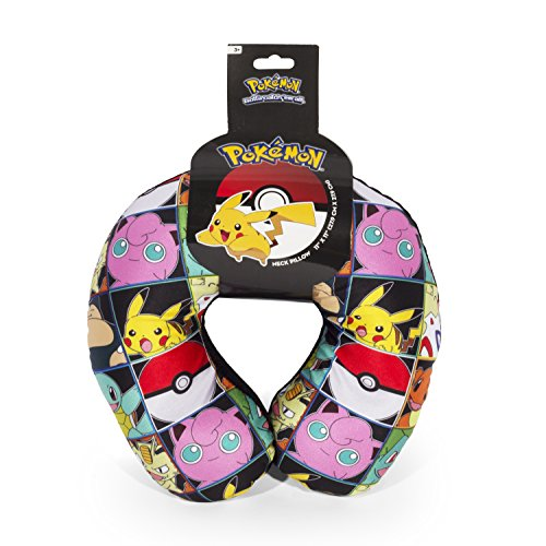 Price comparison product image Pokemon Multi Character Travel Neck Pillow