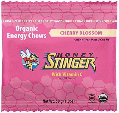 Honey Stinger Organic Energy Chews, Cherry Blossom, 1.8 Ounce (Pack of ()