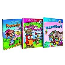 Paquete de preescolar 3: Campos formativos, Matemáticas e Inglés para Preescolar