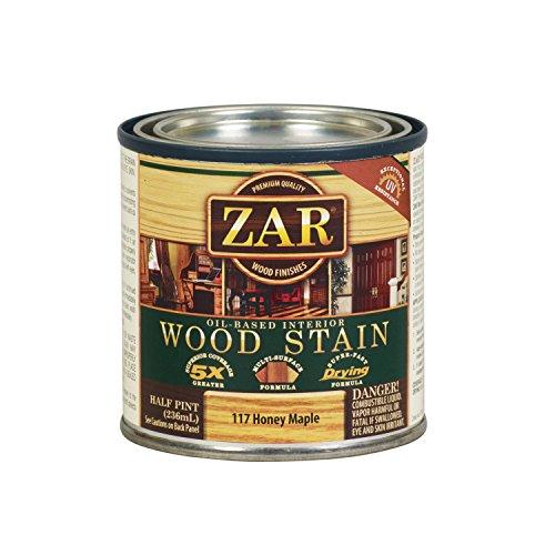 (ZAR 11706 1/2PT Maple WD Stain, Honey)