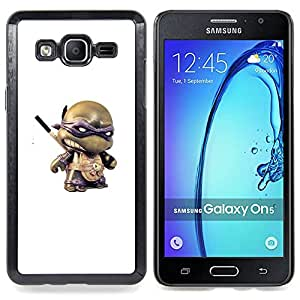 For Samsung Galaxy On5 O5 Case , 3D figurines juguete héroe de dibujos animados - Diseño Patrón Teléfono Caso Cubierta Case Bumper Duro Protección Case Cover Funda
