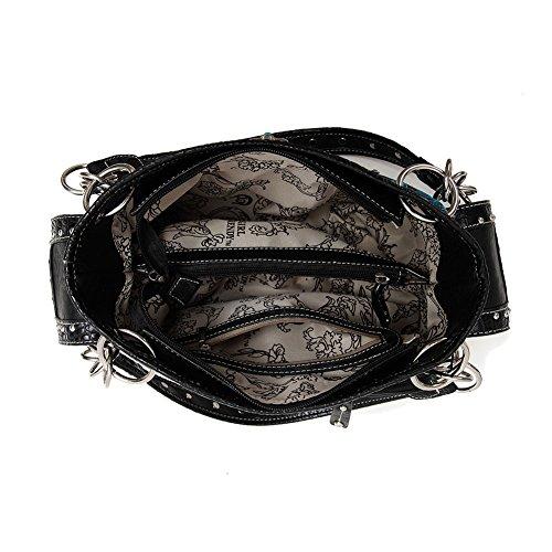 Donne Da Cb Portafoglio Black Bag Nera Biancheria Delle Cuoio Handbag s Borsetta athena Elegante Blancho 2 Fashion Hanbag Set 2 Letto Combo wIxg5qnf