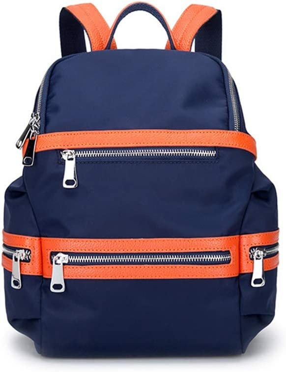 Color : Blue, Size : Large XUNHANG Oxford Cloth Waterproof Backpack Purse for Women Lady Travel Bag Schoolbags Anti-Theft Rucksack Shoulder Bags