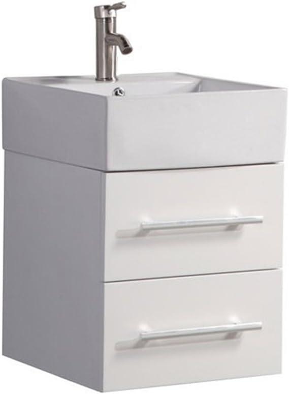 MTD Vanities MTD-8139W-N 18 Nepal Bathroom Vanity