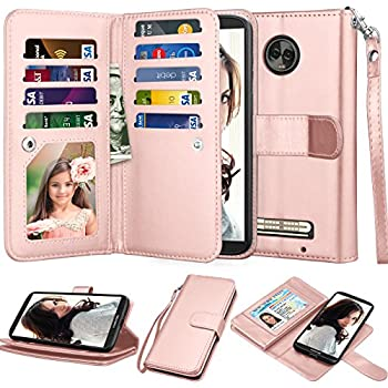 Amazon.com: Njjex For Moto Z3 Play Wallet Case, For Moto