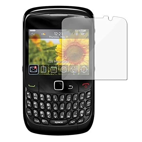 Blackberry 8520, 8530 Curve Clear Regular Screen Protector (Blackberry 8520 Curve Cover)