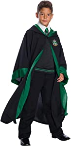 Charades Slytherin Student Children's Costume, As Shown, Large