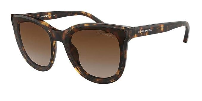 Emporio Armani 0EA4125, Gafas de sol para Mujer, Havana 61 ...