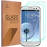 [2-PACK]-Mr Shield For Samsung Galaxy S3 III [Tempered Glass] Screen Protector with Lifetime Replacement Warranty