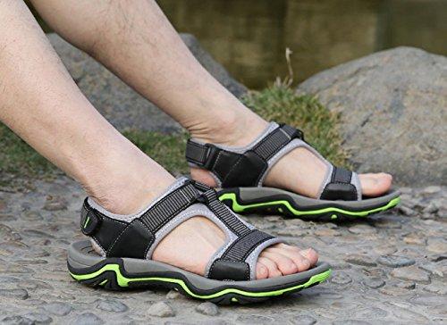 Casuales Hombres Grey Playa Sandalias Al De Libre Verano Zapatos Aire Para qIfYaPqx