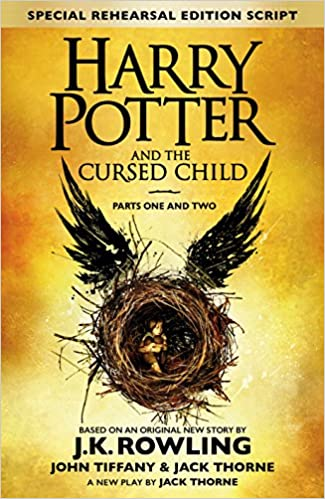 Harry Potter & The Cursed Child - J. K. Rowling, Jack Thorne, John Tiffany 51jLBBnZnTL._SX323_BO1,204,203,200_