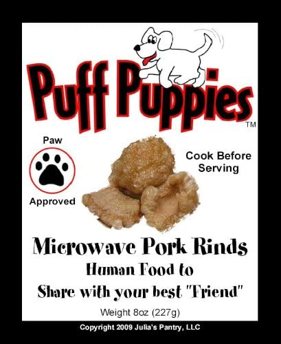 Microwave Pork Rinds 8oz Bag