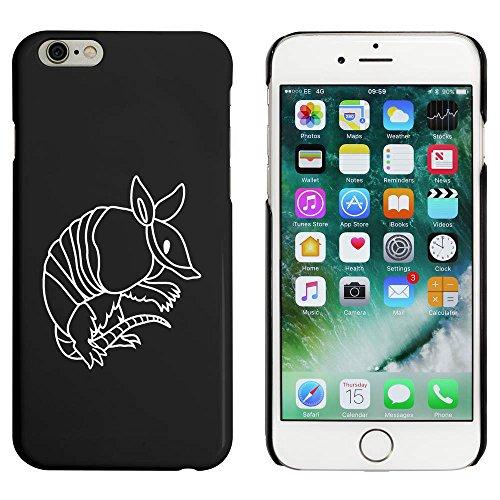 Schwarz 'Gürteltier' Hülle für iPhone 6 u. 6s (MC00002413)