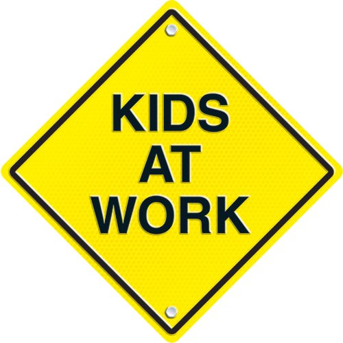 Carson Dellosa Kids at Work Two-Sided Decoration (188027)