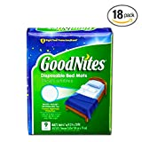 Health & Personal Care : GoodNites Disposable Bed Mats - 9 CT (2)