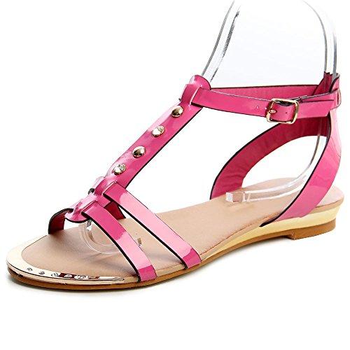 topschuhe24 - Sandalias de vestir para mujer Rosa - rosa