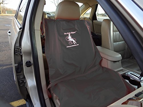 Swivel Car Seat Cover - Gray