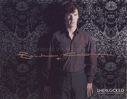 BENEDICT CUMBERBATCH as Sherlock Holmes - Sherlock GENUINE AUTOGRAPH