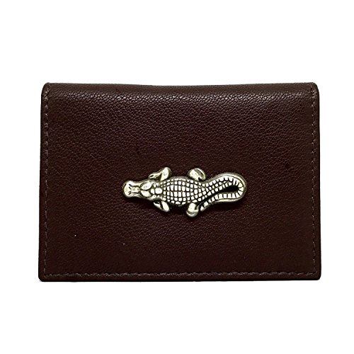 - Alligator Leather Business Card Holder Business Card Case by Cigar Cutters by Jim