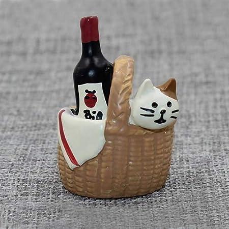 VietFA Gtin - Figura Decorativa de Gato en Miniatura, de Resina ...