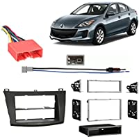Fits Mazda Mazda3 2010-2013 Multi DIN Stereo Harness Radio Install Dash Kit
