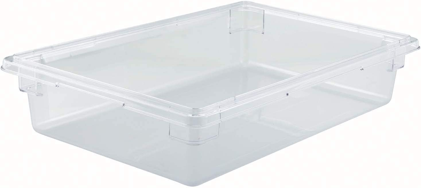 Winco PC Food Storage Box,18X26X6