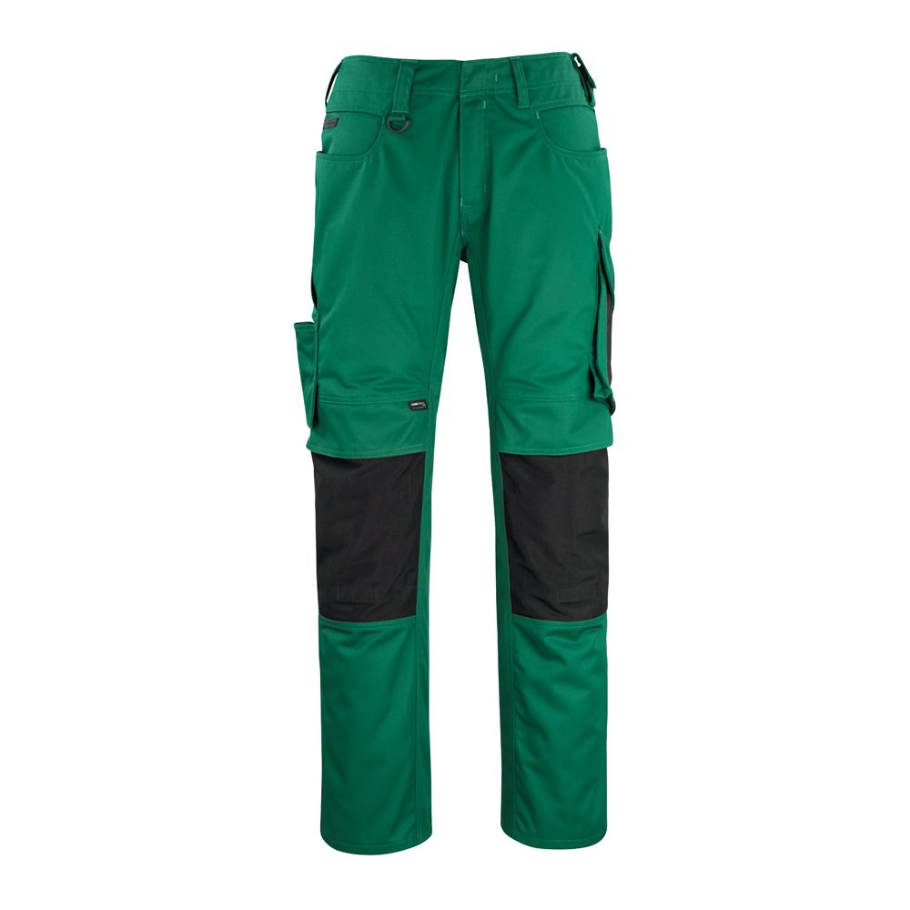 Mascot 12179-203-0309-82C50''Erlangen'' Trousers, L82cm/C50, Green/Black by Mascot (Image #1)