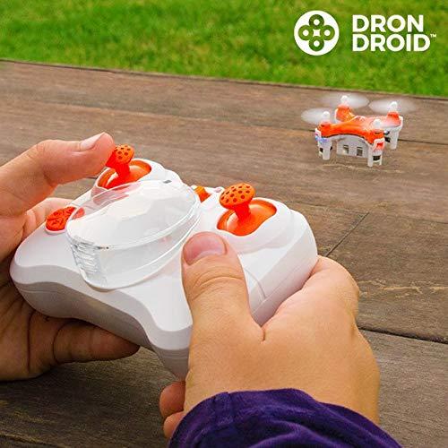 Eurowebb Mini Drone Droid - Juguete de Control Remoto: Amazon.es ...