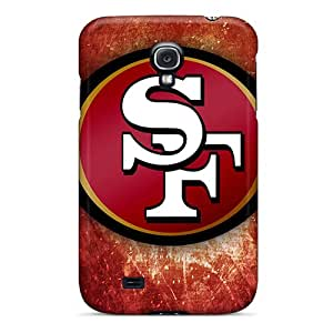 Awesome Case Cover/Galaxy S4 Defender Case Cover(san Francisco 49ers Logo)