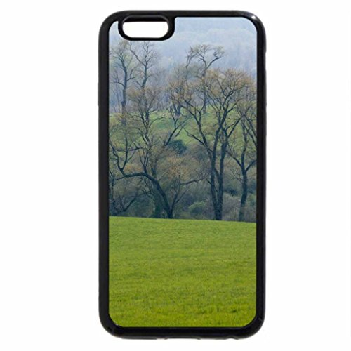 iPhone 6S / iPhone 6 Case (Black) Landscape in the mist